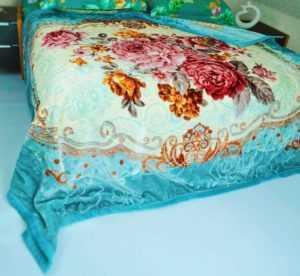 Kuscheldecke  200 x 230 cm, Doppelseitige  Decke 2 Ply , 3 kg
