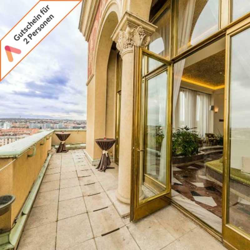 Städtereise Prag 4 Tage Luxus Hotel International für 2 Personen Hotelgutschein