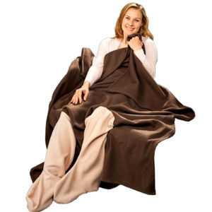 2er Set Kuscheldecke | Wohn Sofa Fleece Decke | Sofadecke