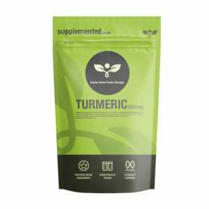 Kurkuma 2000mg Tabletten (Curcumin) ✔ Super Stark ✔ Hergestellt in UK ✔