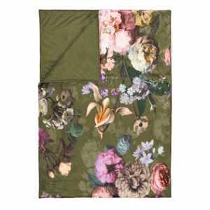 ESSENZA Tagesdecke Quilt Überwurf Fleur Moss Blumen Blüten Rosen