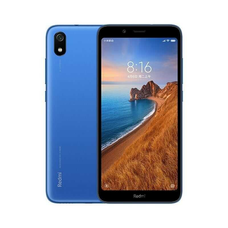 Xiaomi Redmi 7A 16GB matte blue LTE 4G Android Smartphone Handy...