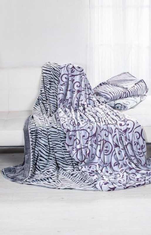 Kuscheldecke,Polyester,Decke,warm,Wohndecke,Tagesdecke,140cm