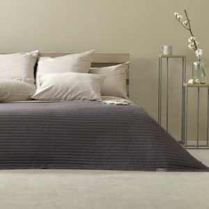 Sei Design® Luxus Tagesdecke Living Trend - Wendedecke gesteppt -