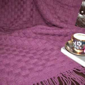Decke Plaid Sofadecke Wollplaid Couchdecke Überwurf Wolldecke