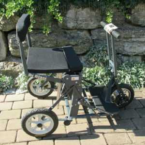 DiBlasi Elektroroller R30, transportabel, klappt automatisch in 10 Sek., NEU!