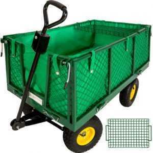 Transportkarre Bollerwagen Handwagen Transportwagen Gerätewagen mit Ablage 550kg