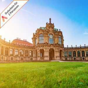 Kurzreise Dresden 3 Tage für 2 Personen A&O Hotel Gutschein super zentrale Lage