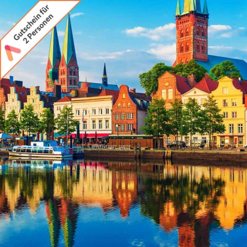 Kurzurlaub Lübeck 4 Tage im First Class Hotel 2 Personen Gutschein Wochenende