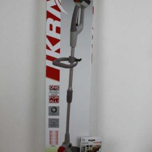 IKRA Set Akku-Rasentrimmer Nylonmesser Grasschneider  Motor-Gartengerät+9428400
