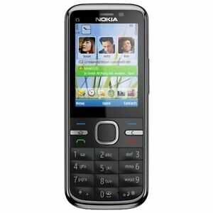 Nokia  C5-00 - Schwarz - 3.2 MP Camera(Ohne Simlock) Smartphone