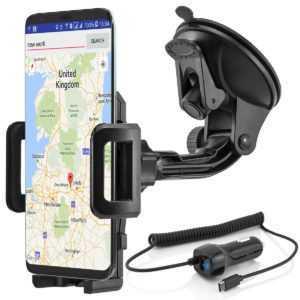 Autohalterung Handy KFZ Halter Samsung Galaxy S10 S9 S8 Note Huawei P20 P30 Mate