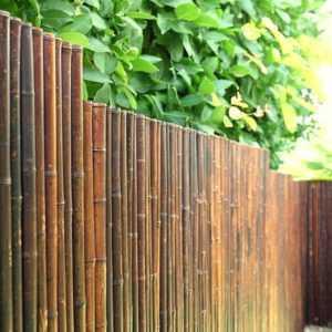 Sichtschutz ATY NIGRA Bambus Gartenzaun Windschutz Sichtschutzmatte in 11 Größen