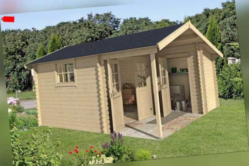 28 mm Gartenhaus 420x450 cm Gerätehaus Holzhaus Holz