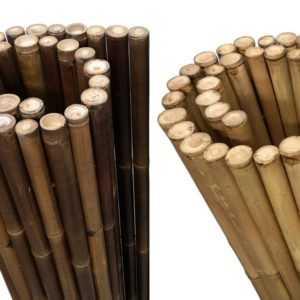 XL Bambus Sichtschutz Garten Gartenzaun Windschutz Bambusmatte - sehr blickdicht