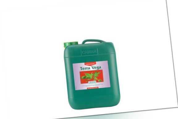CANNA Terra Vega (NPK 3-1-4) 10 L Wachstumsdünger für den Anbau auf Erde Grow