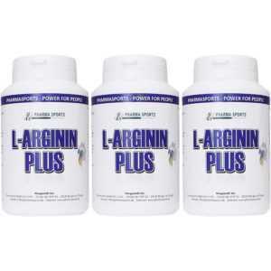 3 Packungen Arginin Plus Complex mit L-Arginin Citrullin OPC Taurin Norvalin