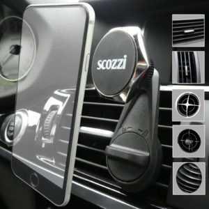 scozzi® 360 universal KFZ Halterung Lüftungsgitter Auto Handy Navi Halter Magnet
