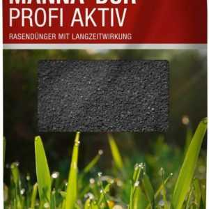 RASENDÜNGER 1000 m² MANNA DUR Profi Aktiv Dünger 2 x 20 kg Rasen Zierrasen + Fe