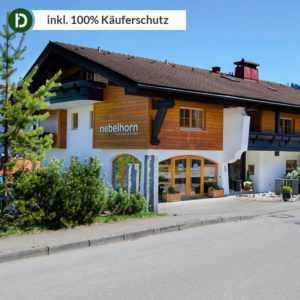 4 Tage Urlaub in Obermaiselstein im Allgäu im Hotel Nebelhorn mit Frühstück