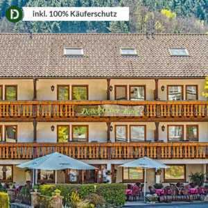 3 Tage Kurzurlaub im Schwarzwald im Hotel Döttelbacher Mühle mit Halbpension