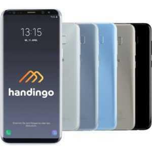 Samsung Galaxy S8 SM-G950F Smartphone 64 GB Android schwarz grau WOW