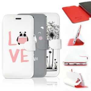 Mobiwear Hülle Xiaomi Mi 9 Lite Book Style Handy Motiv Tasche Case Cover
