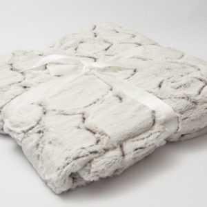 Wohndecke gräulich grau ca. 200x150cm mit Struktur  Decke