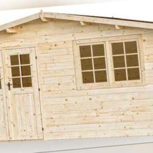 34 mm Gartenhaus 5x4 m Salzburg 6 Gerätehaus Blockhaus Holz Holzhaus Holzhütte