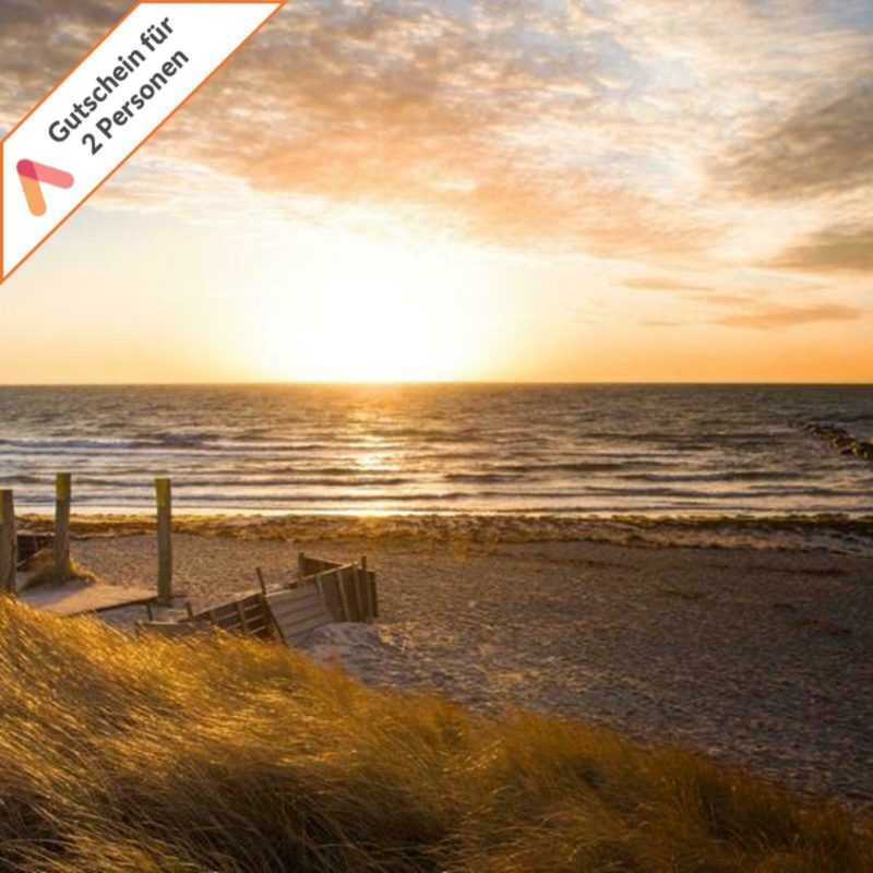 Kurzreise Fehmarn Ostsee 4 Tage für 2 Personen 4* Strand Hotel Bene Gutschein