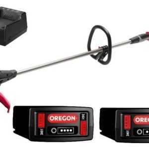 Oregon Akku-Trimmer ST 275-GSL A6 mit 4,0 Ah Akku, Ladegerät + 1x 2,4 Ah Akku