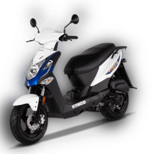 KYMCO Agility 50 4T E4 25 km / h weißes Moped inklusive ...