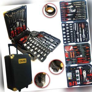 DMS® Mobiler Werkzeugkoffer Werkzeugkasten Werkzeugtrolley Profi Werkzeug Set