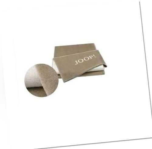 JOOP! Melange Doubleface Wohn- Kuscheldecke 150x200 stone-silver