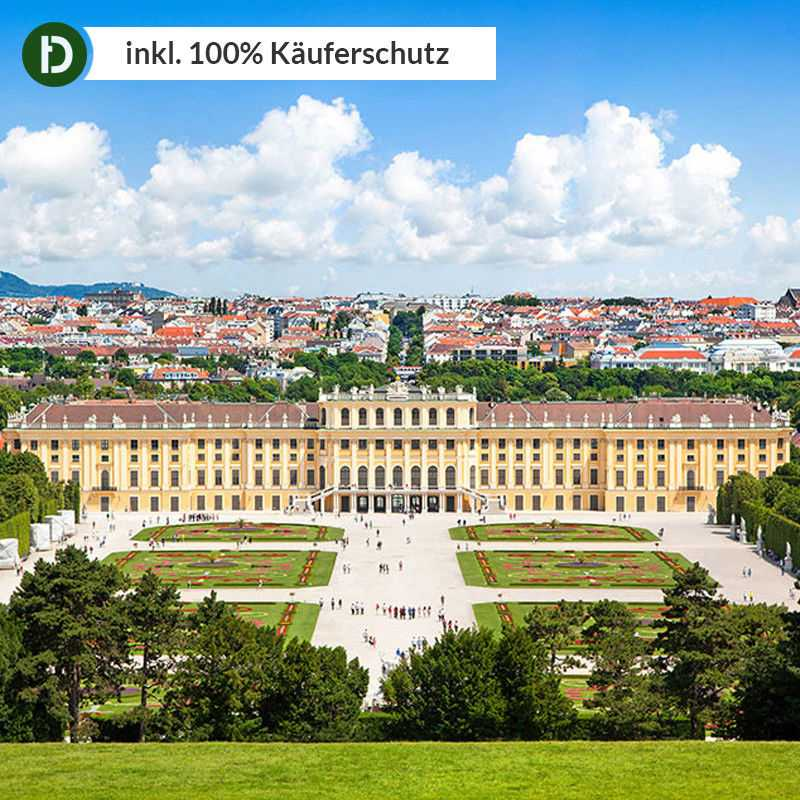 4 Tage Kurzurlaub in Wien im Best Western Plus Amedia Hotel Wien mit Frühstück