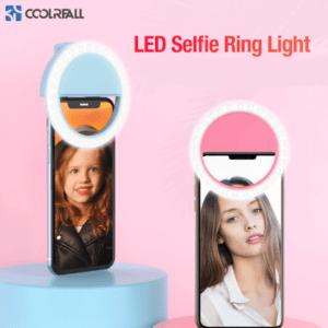 Selfie Licht Ring mit USB-Kabel Handy Flash LED Fotolicht für Smartphone 📱 💡