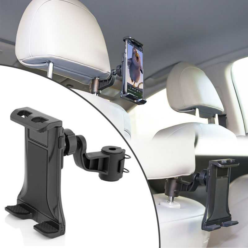 Universal Kopfstützen Halterung Tablet Halter KFZ Auto Smartphone Handy iPhone
