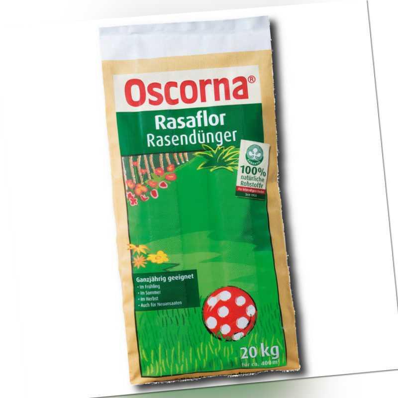Oscorna Rasaflor Rasendünger 20 kg Naturdünger Organisch Biodünger