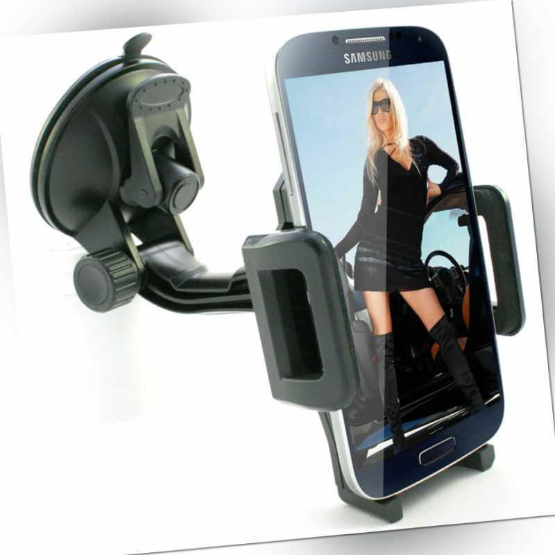 360° Handyhalterung Auto KFZ universal Handy Halterung Halter Windschutzscheibe