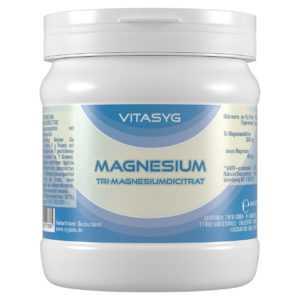 (3,19€/kg)Vitasyg Magnesium Pulver - 2x500g Tri-Magnesiumdicitrat Citrat