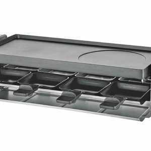 UNOLD Raclette 48735 für 8 Personen 1100W schwarz Grillplatte ...