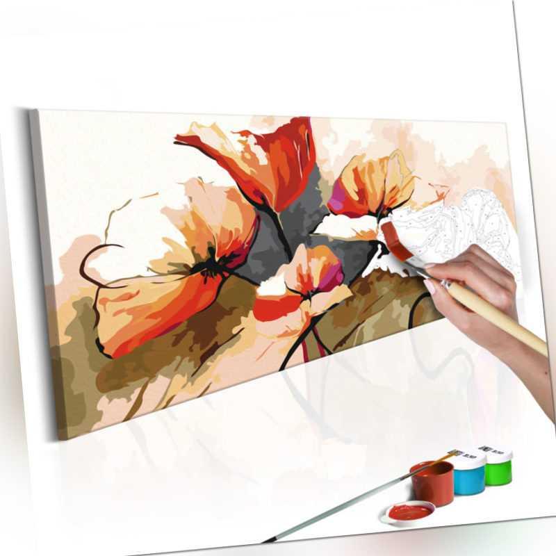 Malen nach Zahlen Erwachsene Wandbild Malset mit Pinsel Malvorlagen n-A-0132-d-a