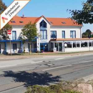 Kurzreise Ostsee Rerik Hotel Haffidyll 3 Tage für 2 Personen Gutschein Animod