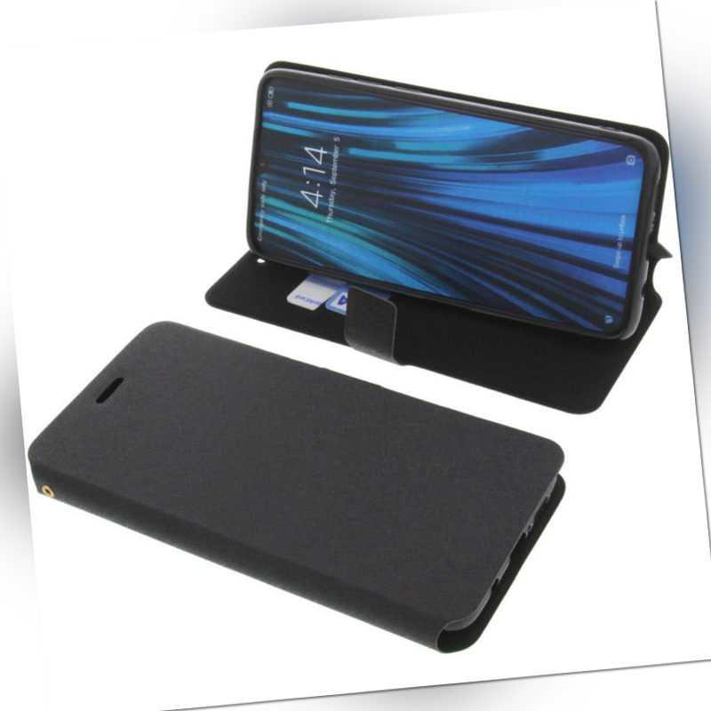 Tasche für Xiaomi Redmi Note 8 PRO Book-Style Schutz Hülle Handytasche Schwarz