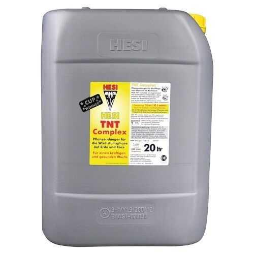 20L Hesi TNT Complex für die Wuchsphase auf Erde TNT-komplex + Düngeschema