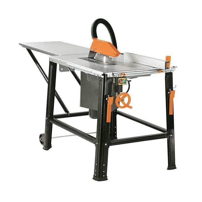 Scheppach Tischkreissäge TS3100PRO 2200W | baugleich HS120o | Tischverbreiterung