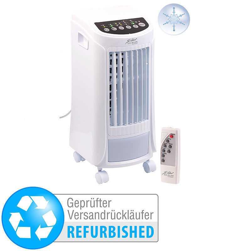 Sichler 3in1-Luftkühler, Luftbefeuchter & Ionisator, Timer (Versandrückläufer)