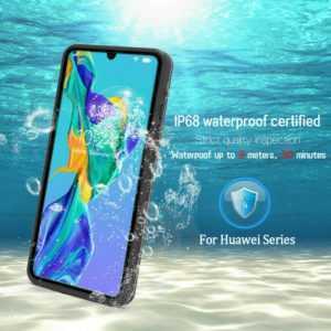 Für Huawei P20 P30 Pro Lite Wasserdichte Handy Hülle Outdoor Case Schutz Cover