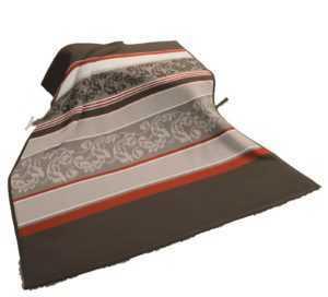 Biederlack Modern Basic Decke / Überwurf, Ranke 150 x 200 cm,