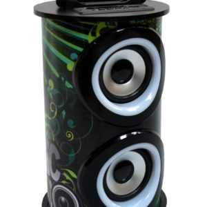 MOBILE BLUETOOTH SOUNDBOX - SCHWARZ, LAUTSPRECHER, RADIO FM-AUX-USB-SD-MP3-DOSE4